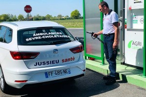 Les ambulances Jussieu Secours roulent au bioGNV