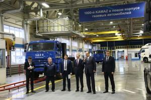 Russie : Kamaz a produit son millième camion au gaz