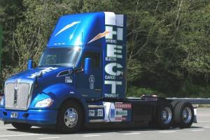 Kenworth présente son camion hybride au gaz naturel