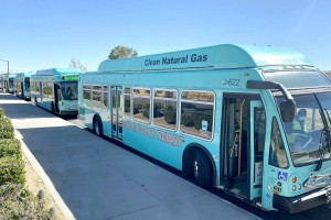 Keolis exploite 87 nouveaux bus GNC en Californie