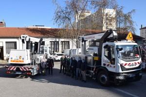Des camions nacelles au gaz naturel pour la mairie de Lyon