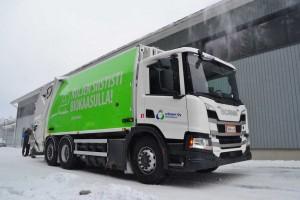 Finlande : des bennes à ordures au biogaz pour la ville de Kuopio
