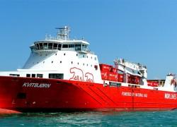 Le Kvitbjørn réalise la plus longue traversée maritime en GNL