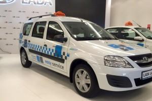 AvtoVAZ et Gazprom pr�sentent la Lada Largus GNV