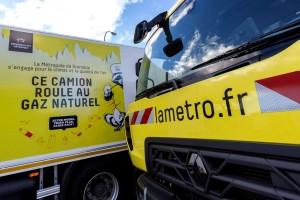 Grenoble : la Métropole reçoit ses premières bennes à ordures GNV