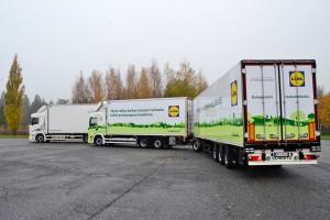 En Finlande, Lidl livre ses magasins avec des camions bioGNL
