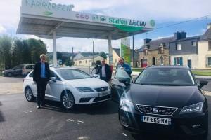 Bretagne : Liger reçoit ses premières Seat Leon au gaz naturel