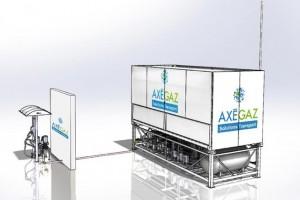 La LNG Box d'Axegaz récompensée au SITL