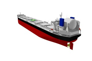 Feu vert pour le vraquier bicarburation GNL de Tsuneishi Shipbuilding