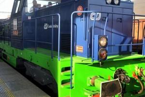 Une locomotive au GNV exp�riment�e en R�publique Tch�que