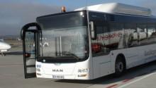 MAN livre un bus GNV à l'aéroport de Bâle Mulhouse