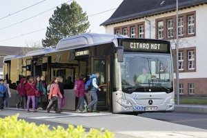 Bus GNV : Madrid commande 82 Mercedes Citaro NGT