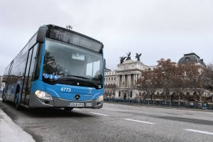 Madrid : 672 bus au gaz naturel en circulation en 2020