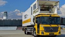 Le nouveau Mercedes Econic NGT Euro 6 livré à l'aéroport de Vienne