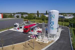 Molgas ouvre une nouvelle station GNL/GNC en Ile-de-France