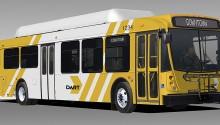 Dallas étend sa flotte GNV avec l'acquisition de 63 bus supplémentaires