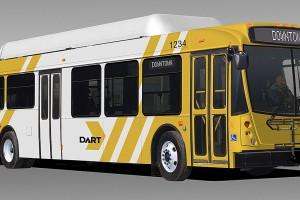 Dallas �tend sa flotte GNV avec l�acquisition de 63 bus suppl�mentaires