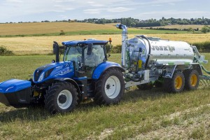 New Holland T6 Methane Power : le premier tracteur au gaz entame sa commercialisation