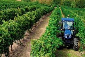 Le tracteur au m�thane de New Holland pr�sent� � Milan