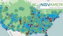 NGVAmerica lance un nouvel outil de référencement des stations GNV