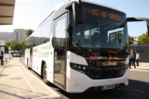 Autocar : le biogaz en test sur la ligne Nice Marseille