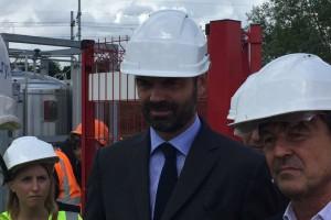 Nicolas Hulot choisit le biogaz et bioGNVAL pour sa première visite officielle