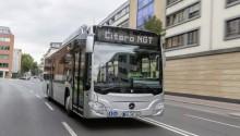 Le nouveau Mercedes Citaro NGT en première mondiale à Busworld