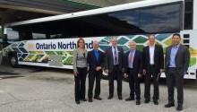 Le premier autocar GNV du Canada testé dans l'Ontario