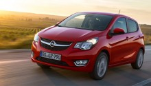 L'Opel Karl GPL est disponible en France