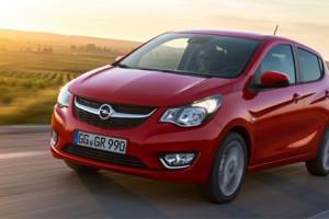L'Opel Karl GPL est disponible en France