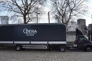 Paris : un utilitaire au gaz naturel pour l'Opéra Garnier