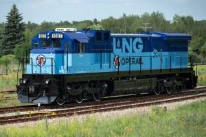 En Estonie, Operail teste sa première locomotive de fret au GNL