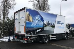 Orly Gel va convertir 50 % de ses camions parisiens au gaz