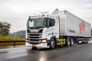 Brésil : Pepsico achète 18 camions GNV à Scania