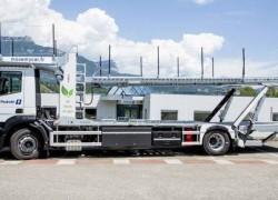 Ile-de-France : un porte-voitures au gaz pour le transporteur Pedretti