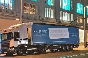 Madrid : Primark choisit le GNV pour livrer ses magasins