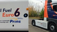 Howard Tenens va recevoir le premier camion bi-carburation Euro 6 d'Europe