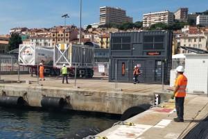 Corse : du GNL pour le ravitaillement électrique des navires à quai