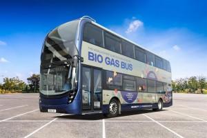 Reading Bus en route pour les bus à deux étages au biogaz