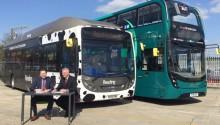Reading Bus va faire rouler des bus à deux étages au biométhane