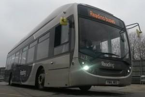 Reading Bus veut �tablir un record de vitesse avec un bus biom�thane