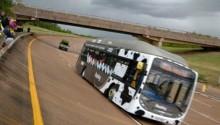 Record de vitesse battu pour le bus au biométhane de Reading Bus