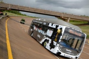 Record de vitesse battu pour le bus au biom�thane de Reading Bus
