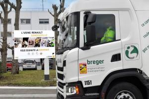 Renault intègre des camions au biogaz pour ses activités logistiques