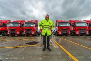 Grande-Bretagne : 29 nouveaux camions au bioGNC pour Royal Mail