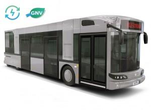 Un premier bus hybride rechargeable GNV pour le réseau grenoblois