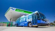 A Santa Monica, les bus passent au biométhane