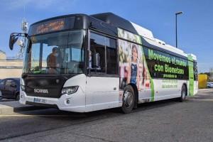Espagne : Naturgy et Scania déploient un premier bus au bioGNV à Saragosse