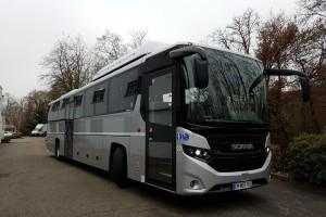 Autocars et émissions réelles : le GNV comparé au diesel dans une étude de l'ADEME, du CRMT et de Scania