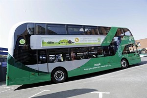 Objectif 120 bus au biogaz pour Nottingham d'ici 2020